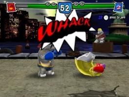 """Het spel kent een hoop stripboek-effecten, zoals enorme """"tekst""""-ballonnen"""