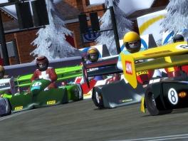 Volgens mij zijn die F1-wagens gekrompen.