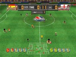 Nou..... Een saaie helft tussen Engeland-Spanje! Laatste aanval.... GOAL!!!