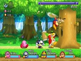 Je kan hier met vier mensen spelen: <a href = https://www.mario64.nl/Nintendo64_Kirby_the_Crystal_Shards.htm target = _blank>Kirby</a>, King DeeDeeDee, Meta Knight, Waddle Dee.