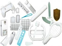Dit pakket zit vol met accessoires voor de Wii. Voor iedereen zit er wel iets bruikbaars bij.