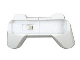Dit is een Remote Grip. Hier doe je een <a href = https://www.mariowii.nl/wii_spel_info.php?Nintendo=Wii-afstandsbediening>WiiRemote</a> in, zodat je meer grip hebt tijdens het spelen.