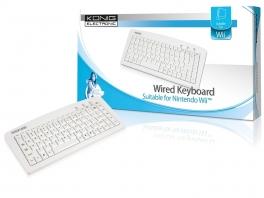 Een draadloos toetsenbord is erg handig als je veel chat op de Wii!