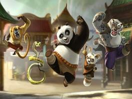 Yup, zo'n beetje elk personage uit de <a href = https://www.mariowii.nl/wii_spel_info.php?Nintendo=Kung_Fu_Panda>Kung Fu Panda</a>-film is weer aanwezig!