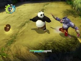Het concept is hetzelfde als in de eerste game: Po schopt kont!