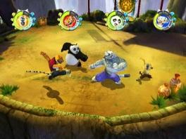 Vecht in verschillende kung-fu stijlen: toch net even anders dan <a href = https://www.mario64.nl/nintendo64Super_Smash_Bros.htm target = _blank>Smash Bros</a>.