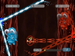 Kyotokei is een zogenaamde side-scrolling shooter.