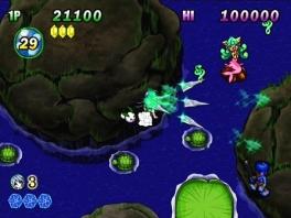 Laat je niet misleiden door de kleurrijke en vriendelijke graphics. Dit spel is moeilijk!