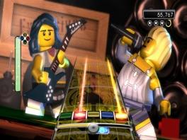 Dit spel doet erg denken aan Guitar Hero.