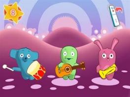 Speel allerlei leuke, leerzame minigames, zoals deze muziekgame!