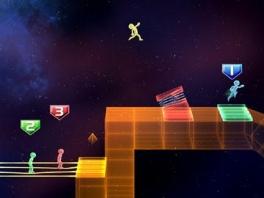 Tap Runner is een van de leukste spelletjes op de disk.