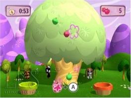 Fruitvangen, een leuke minigame.