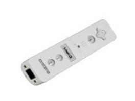 De voorkant van de <a href = https://www.mariowii.nl/wii_spel_info.php?Nintendo=Logic3_Wireless_Nunchuk_Adapter>Logic3</a> Remote Plus ziet er anders uit dan een originele <a href = https://www.mariowii.nl/wii_spel_info.php?Nintendo=Wii-afstandsbediening>Wii Remote</a>.