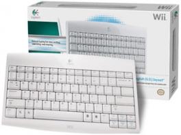 De doos met ervoor het mooie draadloze toetsenbord.