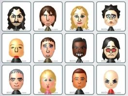 De speelbare figuren in deze game zijn je eigen mii poppetjes.
