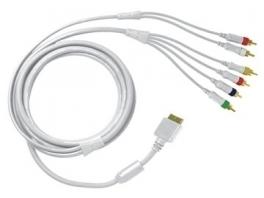 De <a href = https://www.mariowii.nl/wii_spel_info.php?Nintendo=Wii_Componentkabel>componentkabel</a> wordt gebruikt voor tvs zonder composiet of scart aansluiting.