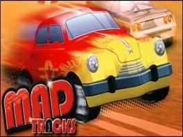 Je hebt de keuze uit verschillende auto's om de Tracks Mad te maken.