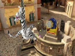 Vliegende zebra&#039;s? In een <a href = https://www.mariowii.nl/wii_spel_info.php?Nintendo=Circus>circus</a> Leuk toch?