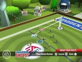 Naast het ruige getackle vind je in deze game ook het strategische gedeelte van de sport terug.