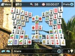 Bij Mahjong kun je kiezen uit 30 spelvormen; Tower, Turtle of een andere!