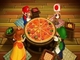 Een lekker tussendoortje... Maar zelfs over een stukje pizza barst de strijd al snel los!