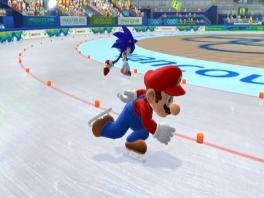 Brrr, koud hoor Mario! Doe een sjaal om anders verlies je zo nog!