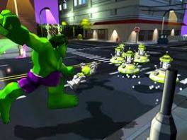Geen enkele vijand is te sterk voor <a href = https://www.mariocube.nl/GameCube_Spelinfo.php?Nintendo=The_Hulk>de Hulk</a>!