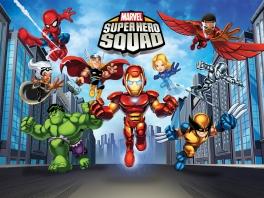 Speel onder andere met <a href = https://www.mariowii.nl/wii_zoeken.php?search=spider-man>Spider-Man</a>, <a href = https://www.mariowii.nl/wii_spel_info.php?Nintendo=Iron_Man>Iron Man</a>, <a href=https://www.mariowii.nl/wii_spel_info.php?Nintendo=The_Incredible_Hulk_The_Official_Videogame>Hulk</a>, Dark Surfer en Loki.