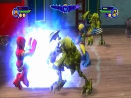 Als een superheld kun je natuurlijk superkrachten gebruiken om de vijanden aan te pakken.