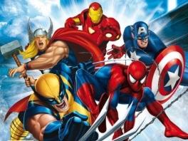 Vijf van 's werelds grootste superhelden mengen zich in deze strijd!