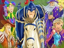 Speel als deze bonte verzameling middeleeuwse figuren!