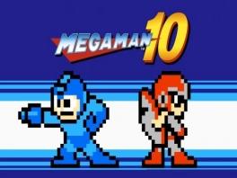MegaMan met zijn broer ProtoMan.