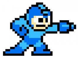 speel als de Blue Bomber, beter bekend als MegaMan!