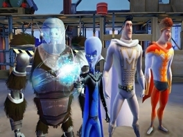 Speel als <a href = https://www.mariowii.nl/wii_spel_info.php?Nintendo=Megamind_Mega_Team_Unite>Megamind</a>, Metro Man, Tighten en Minion en unlock tot wel 6 extra personages.