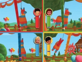 Veel verschillende leuke minigames voor kinderen.