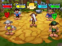 Kies je favoriete aap voor een stel knotsgekke minigames