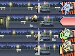 In tegenstelling tot het bordspel heeft de game veel minigames