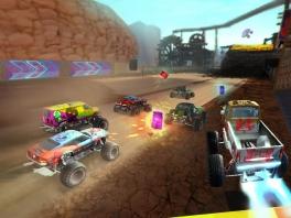 Speel als allerlei grote, verwoestende trucks!