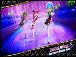 Monster High: Skultimate Roller Maze: Afbeelding met speelbare characters