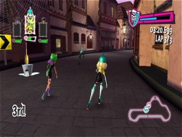 Monster High Skultimate Roller Maze: Screenshot