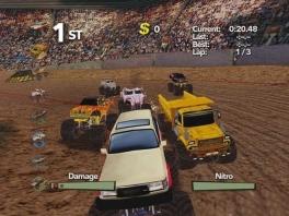 Speel met tientallen verwoestende trucks!