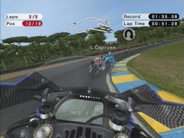 Race er met verschillende motoren op los, ook in first person!