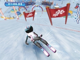 Geen beroemde sporters in deze game, maar wel je eigen Wii-avatar