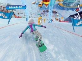 Ook originele wintersporten zijn aanwezig, maar skiën en snowboarden blijven favoriet