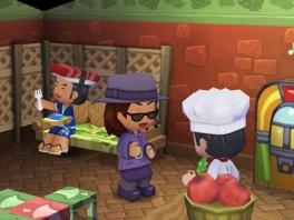In My Sims heb je een bakker, een kleding winkel en nog veel meer!