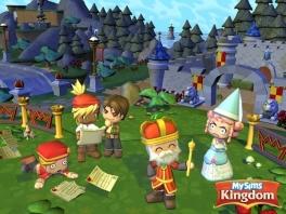 Buig voor de koning van het Kingdom van de <a href = https://www.mariowii.nl/wii_spel_info.php?Nintendo=MySims>MySims</a>.