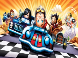 Race met je favoriete <a href = https://www.mariowii.nl/wii_spel_info.php?Nintendo=MySims>MySims</a> personages.