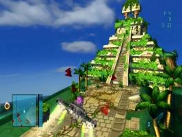 Vlieg naar de mooiste locaties, zoals deze tempel.