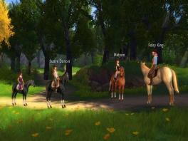 Ook in dit paardenspel speel je als een ruiter.
