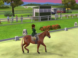 Train samen met je paard en behaal de eerste plaats op wedstrijden!